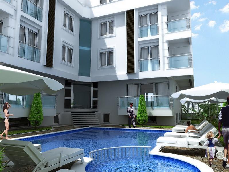 Antalya Classy Residential Complex 7