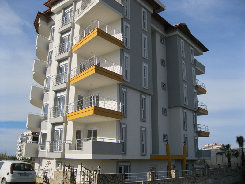 apartments in alanya with sea view 1
