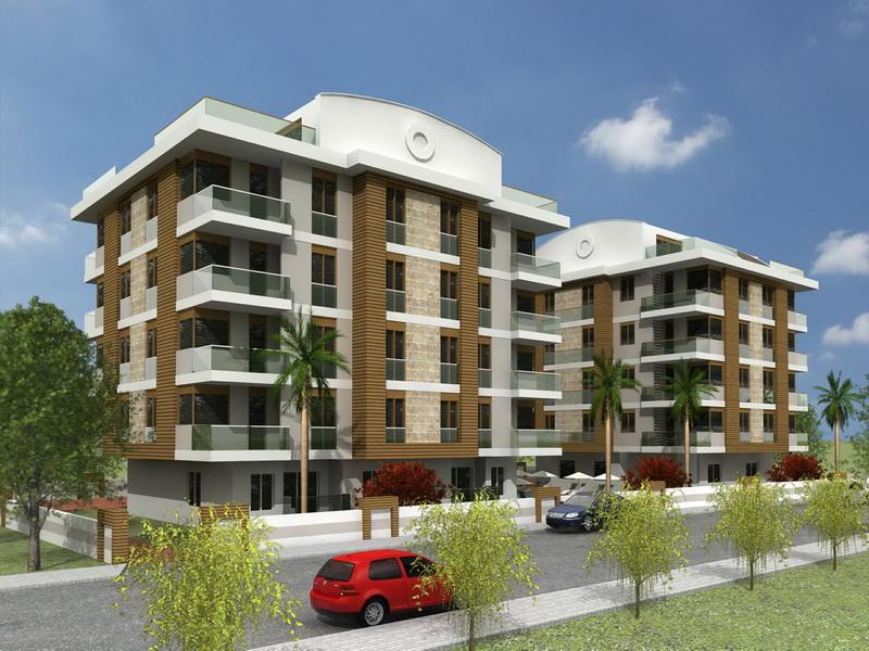 apartments with pool antalya 5