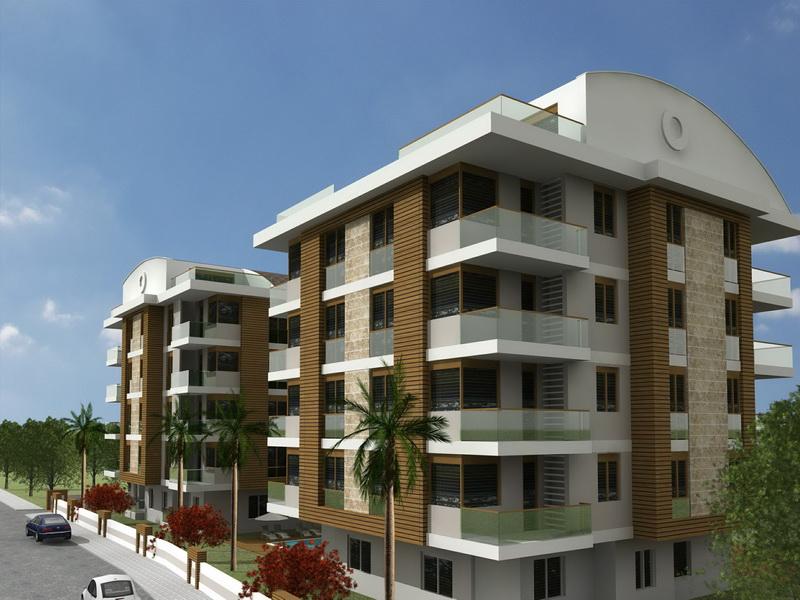 apartments with pool antalya 6
