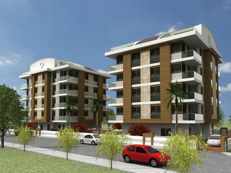 apartments with pool antalya 3