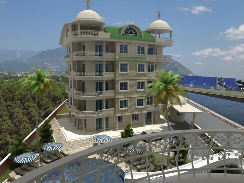 seaview apartments alanya 5