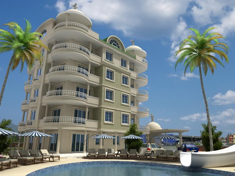 seaview apartments alanya 4