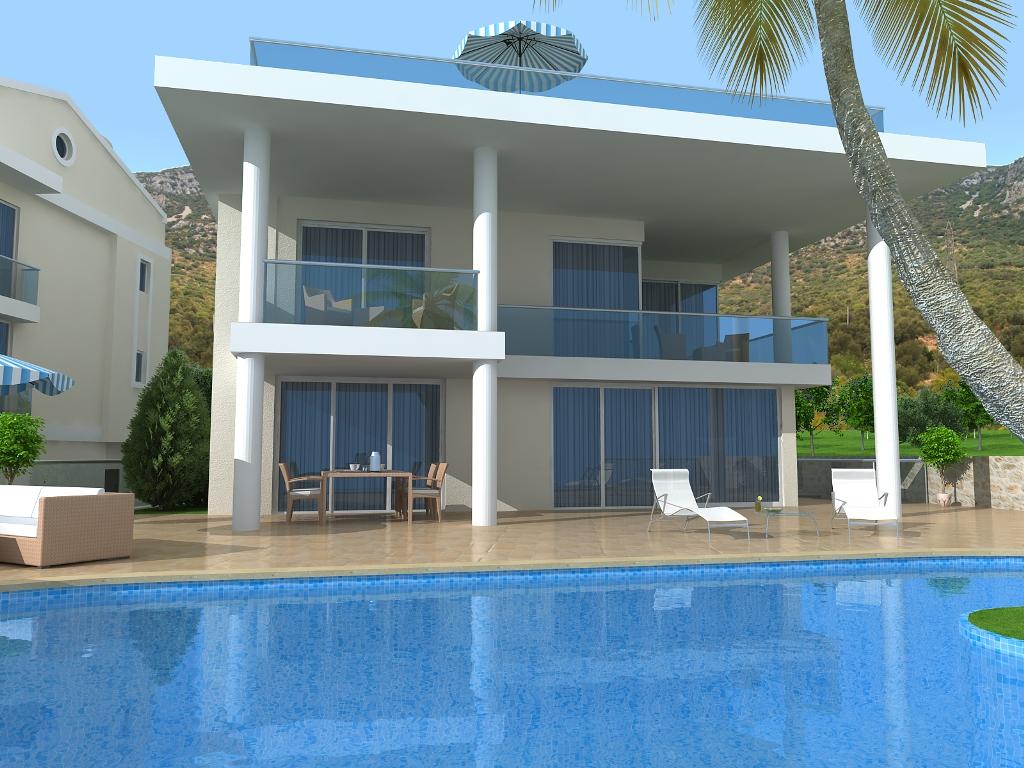 luxury villa in kalkan for sale 11