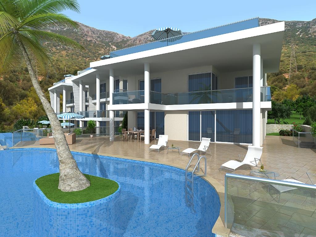 luxury villa in kalkan for sale 12