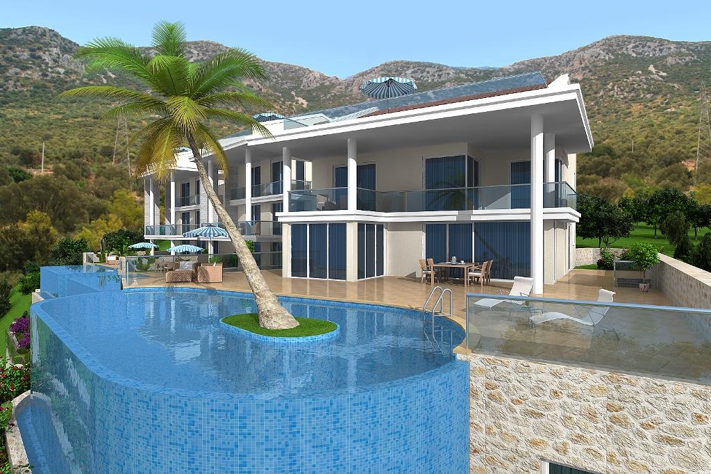luxury villa in kalkan for sale 2