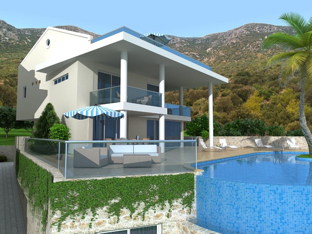 luxury villa in kalkan for sale 9