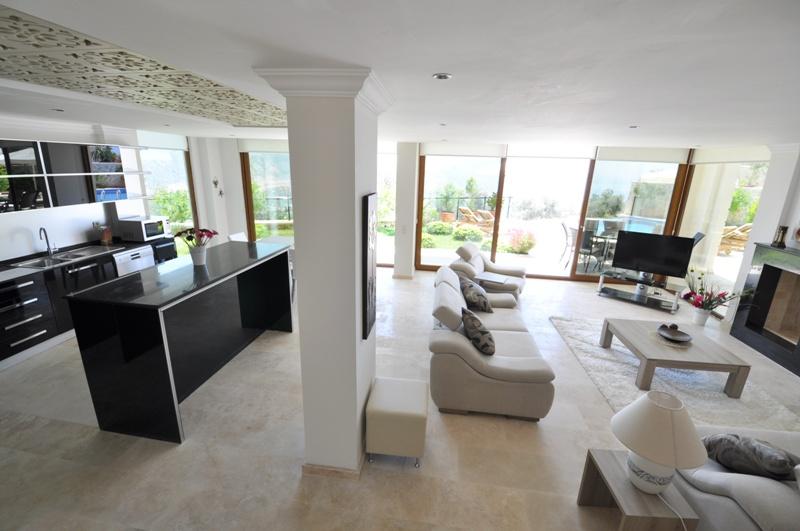 villa in kalkan fethiye for sale 12