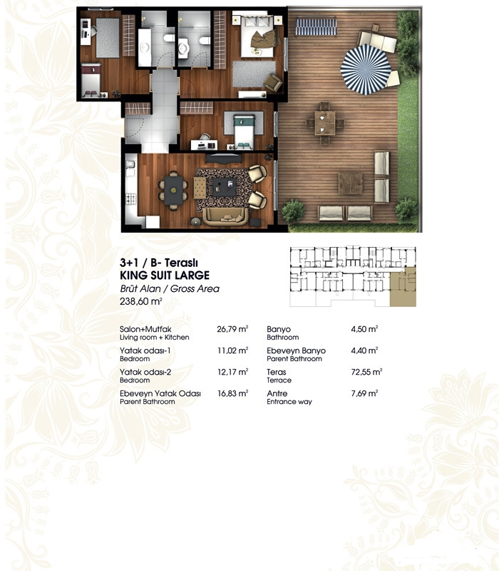 buy historical architecture apartments in istanbul 22