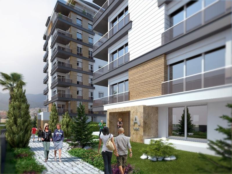 Buy Complex Apartment in Antalya 1