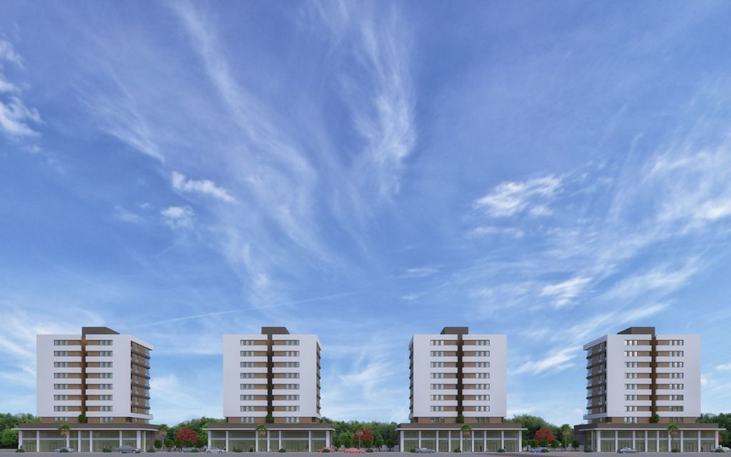 Complex City Center Property in Antalya 10