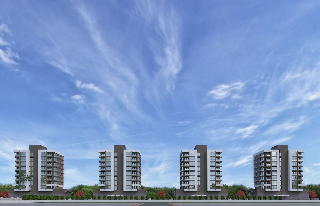 Complex City Center Property in Antalya 12