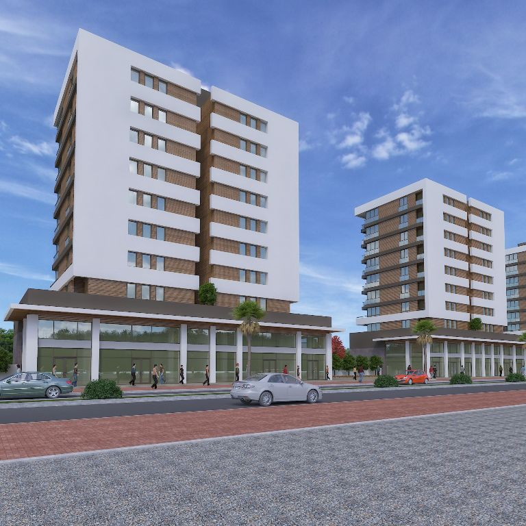 Complex City Center Property in Antalya 3