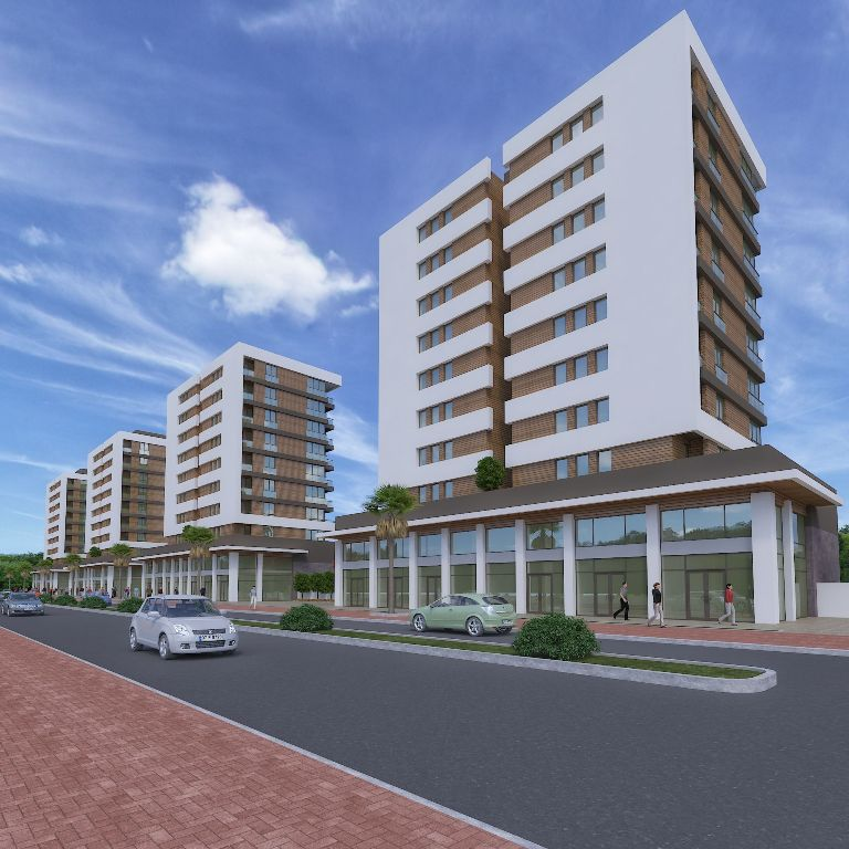 Complex City Center Property in Antalya 6