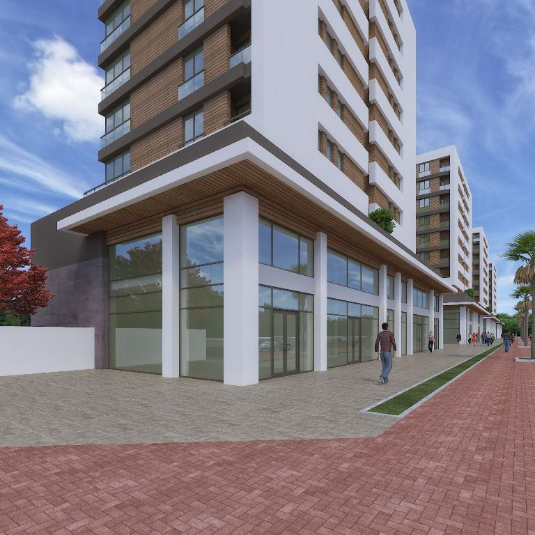 Complex City Center Property in Antalya 7