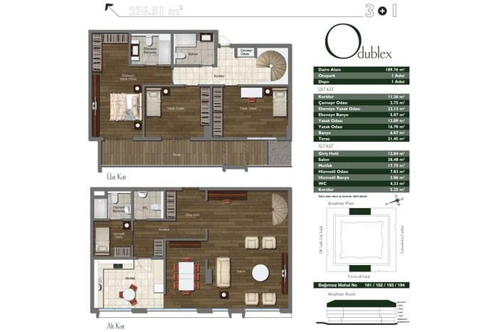 Duplex Apartment For Sale Istanbul 14