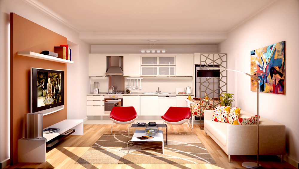 Modern Estate Apartment in Istanbul 26