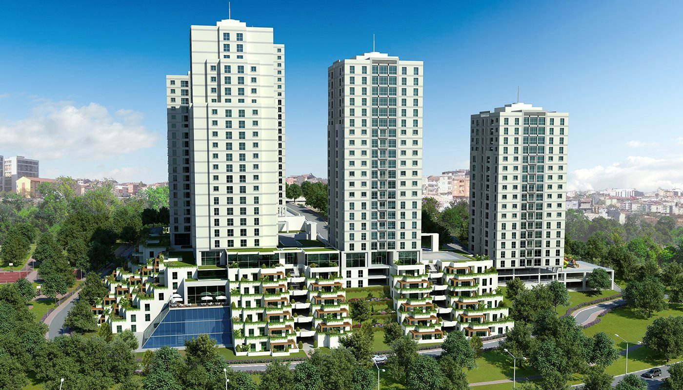 New Luxury Istanbul Flats For Sale 1