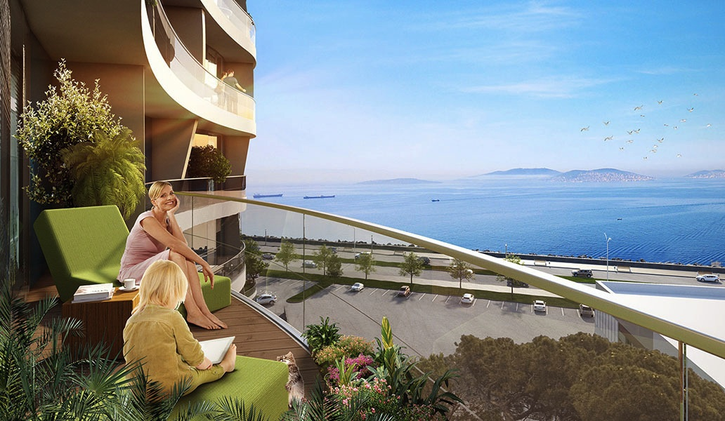 seaview apartments in istanbul 1