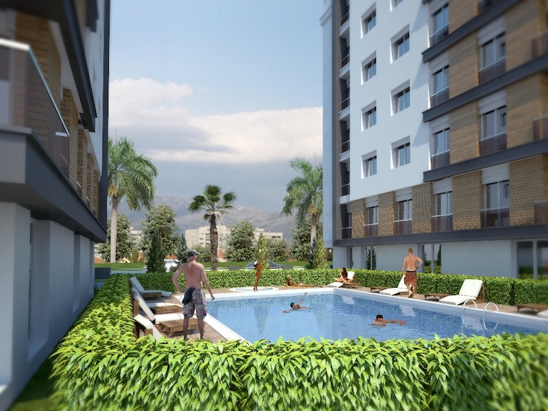 Sun City Apartment in Antalya 1
