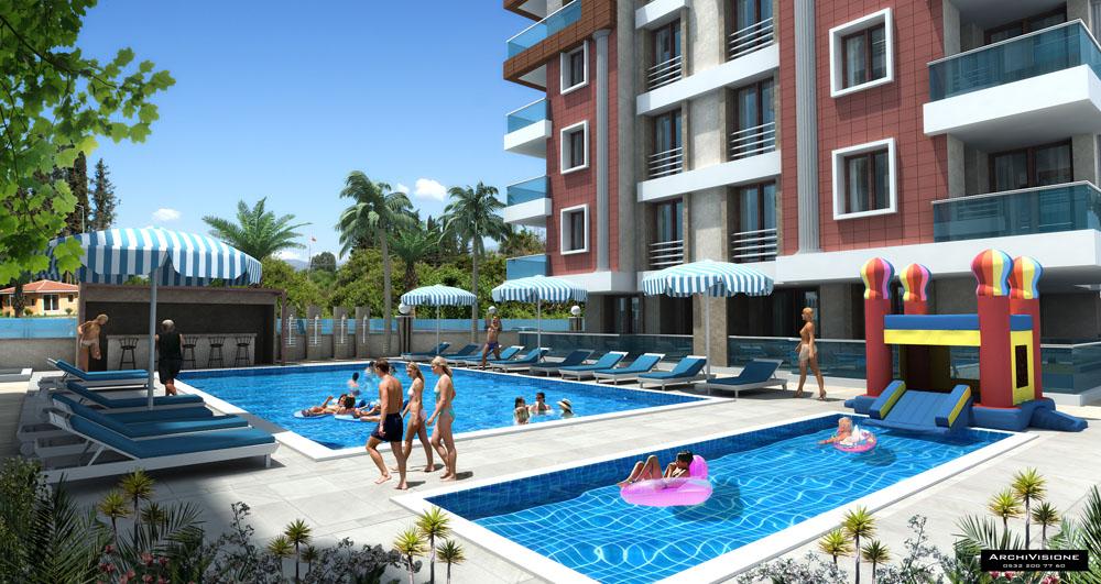 Apartments for Sale in Konyaalti Turkey 1