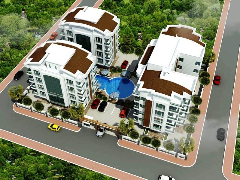New Flats inside Antalya for Sale 2