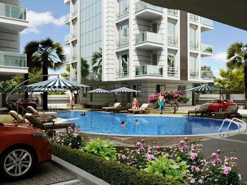 New Flats inside Antalya for Sale 7