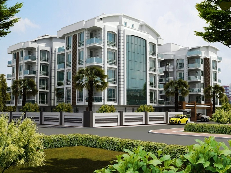 New Flats inside Antalya for Sale 1