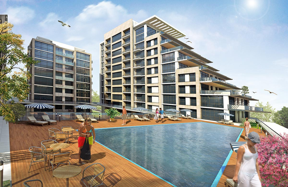 apartments with seaview in istanbul 12