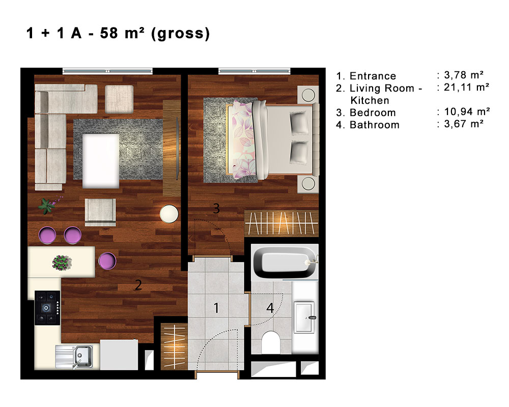 apartments with seaview in istanbul 14