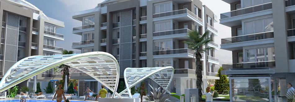 Antalya Turkish complex apartments for sale 2