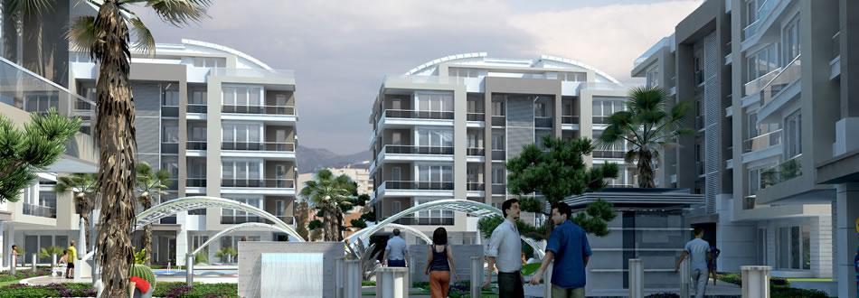 Antalya Turkish complex apartments for sale 3
