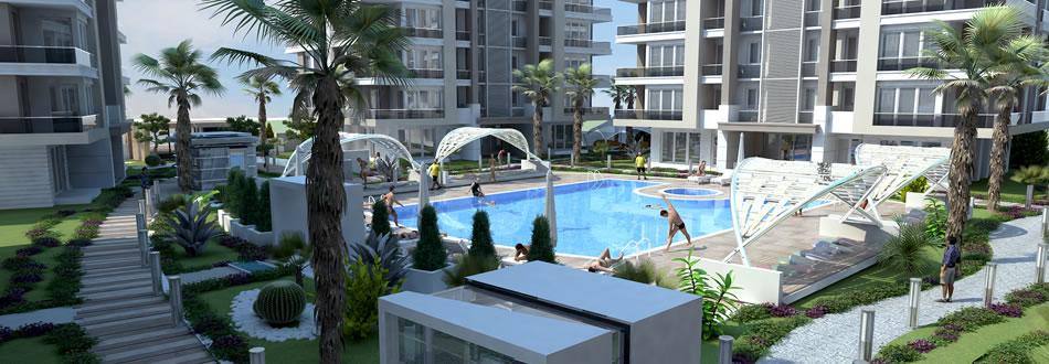 Antalya Turkish complex apartments for sale 4