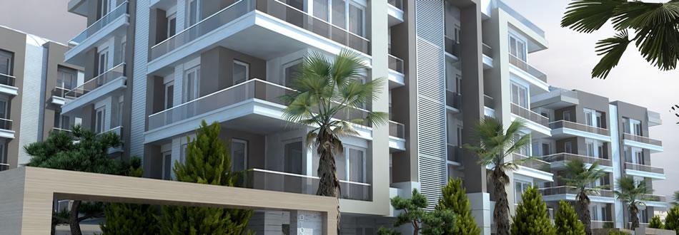 Antalya Turkish complex apartments for sale 5