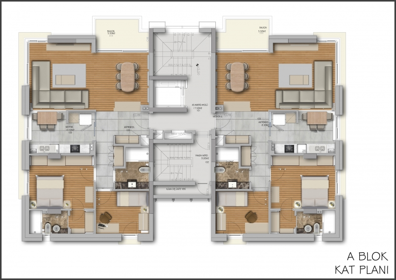 antalya city center apartments for sale 16