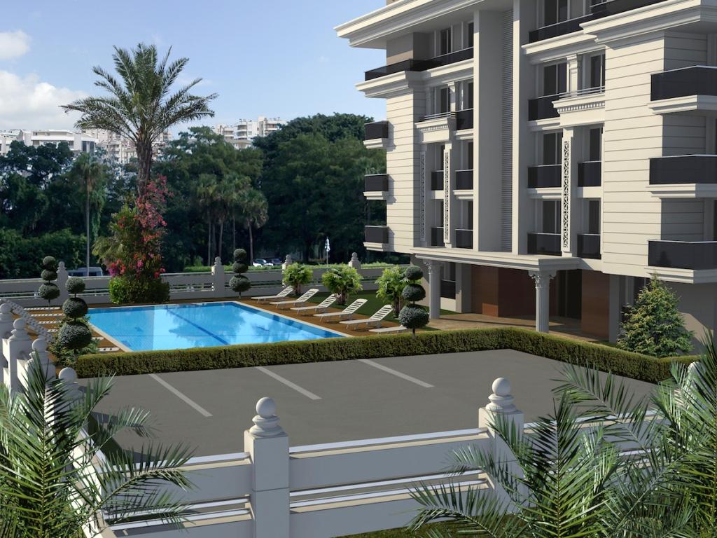 New Modern Antalya Apartments 1