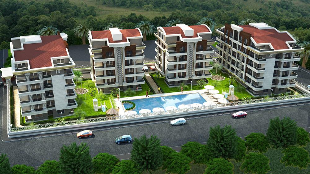 Property in Antalya near the Sea side 2