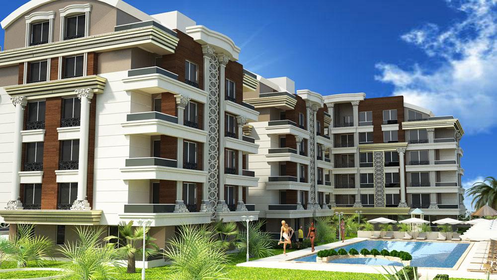 Property in Antalya near the Sea side 1