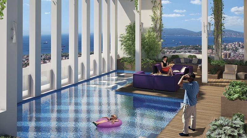 sea view apartment for sale turkey 14