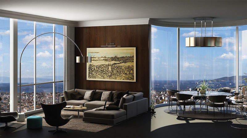 sea view apartment for sale turkey 18