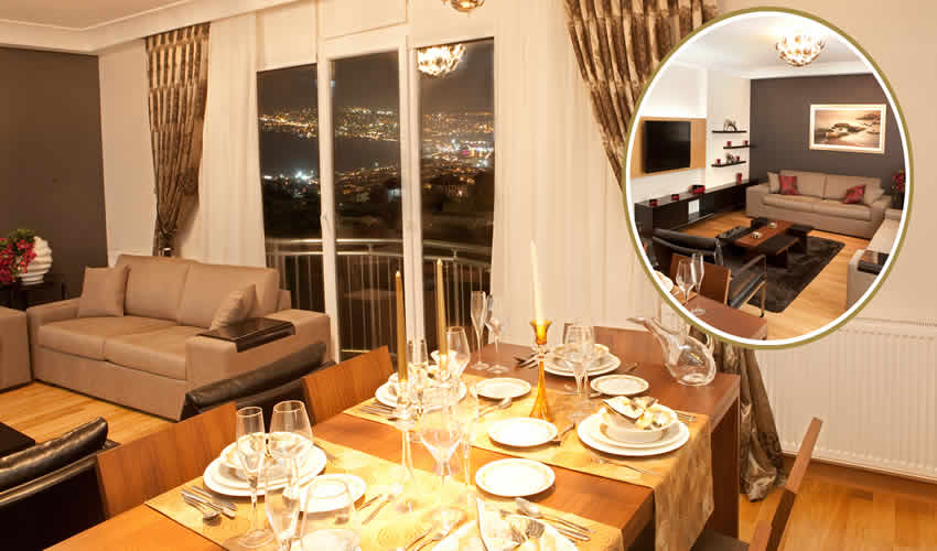 Sea View Apartment in Istanbul 5