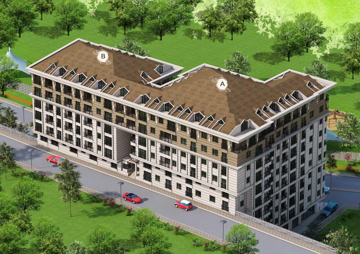 Buy Apartment in Istanbul Eyup 6