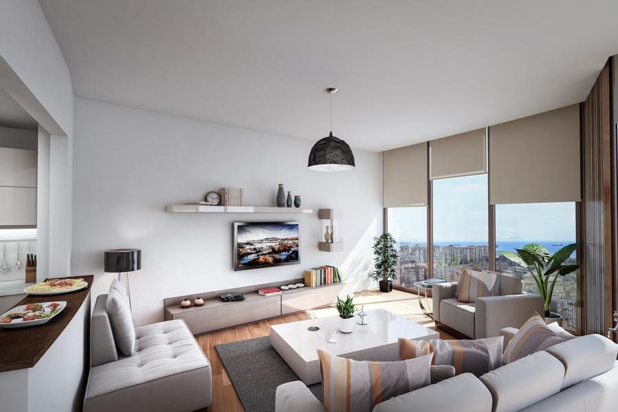 Buy Seaview Apartment in Istanbul Turkey 15