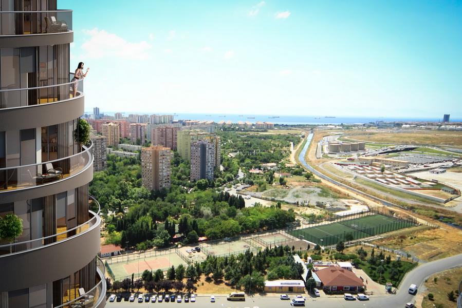 Buy Seaview Apartment in Istanbul Turkey 1