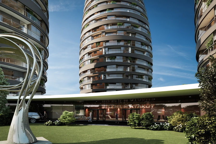 Real Estate in Istanbul with Seaview 5