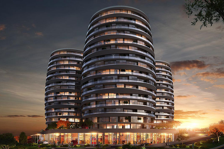 Real Estate in Istanbul with Seaview 7