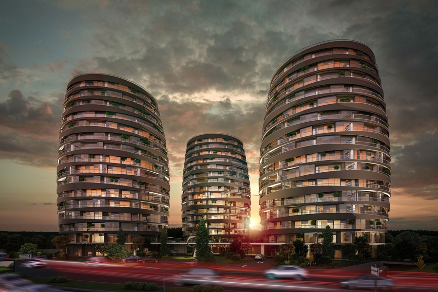 Real Estate in Istanbul with Seaview 8