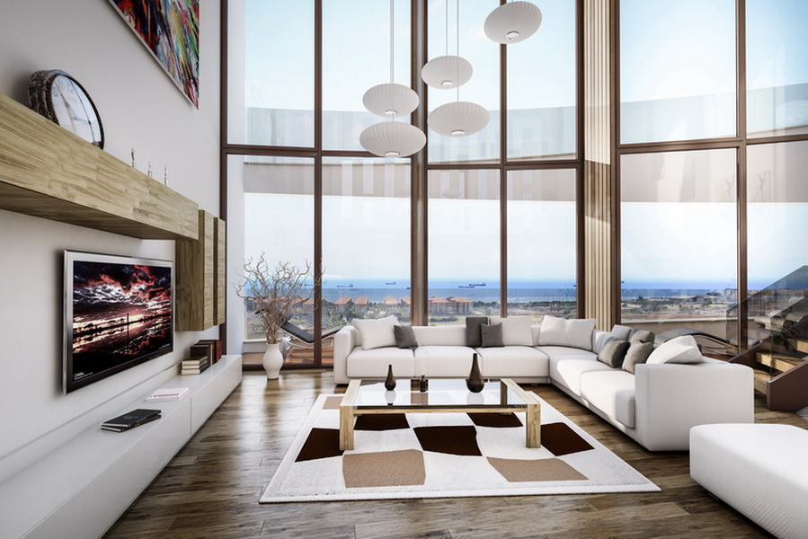 Real Estate in Istanbul with Seaview 9