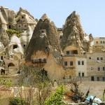 cappadocia turkey ancient houses