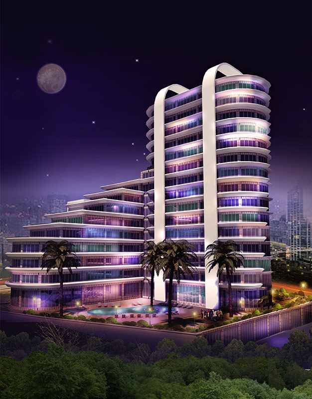 Real Estate Luxury Istanbul Hotel Concept 1
